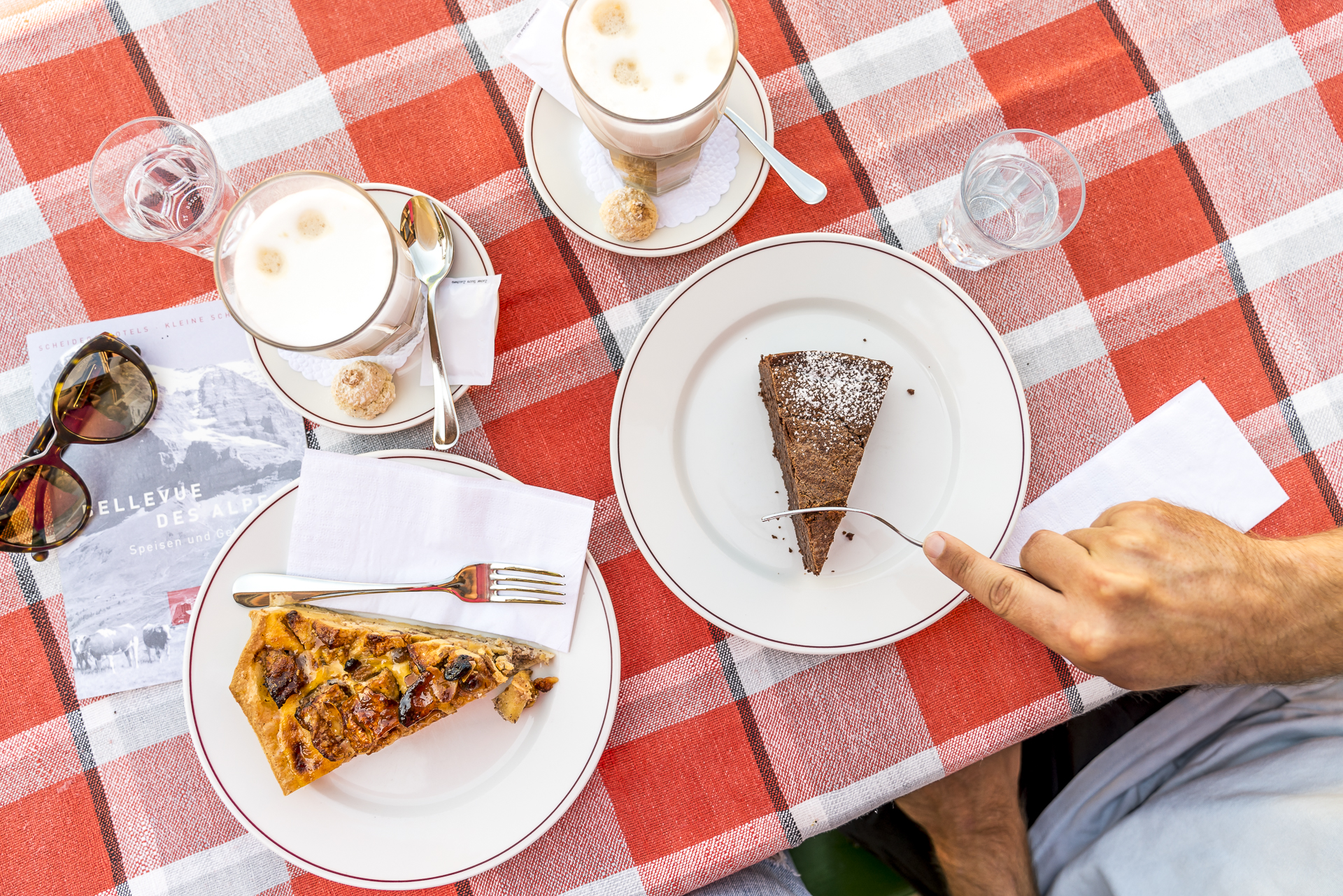 Kuchen Kleine Scheidegg
