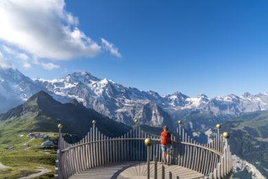 Panorama Männlichen Wengen