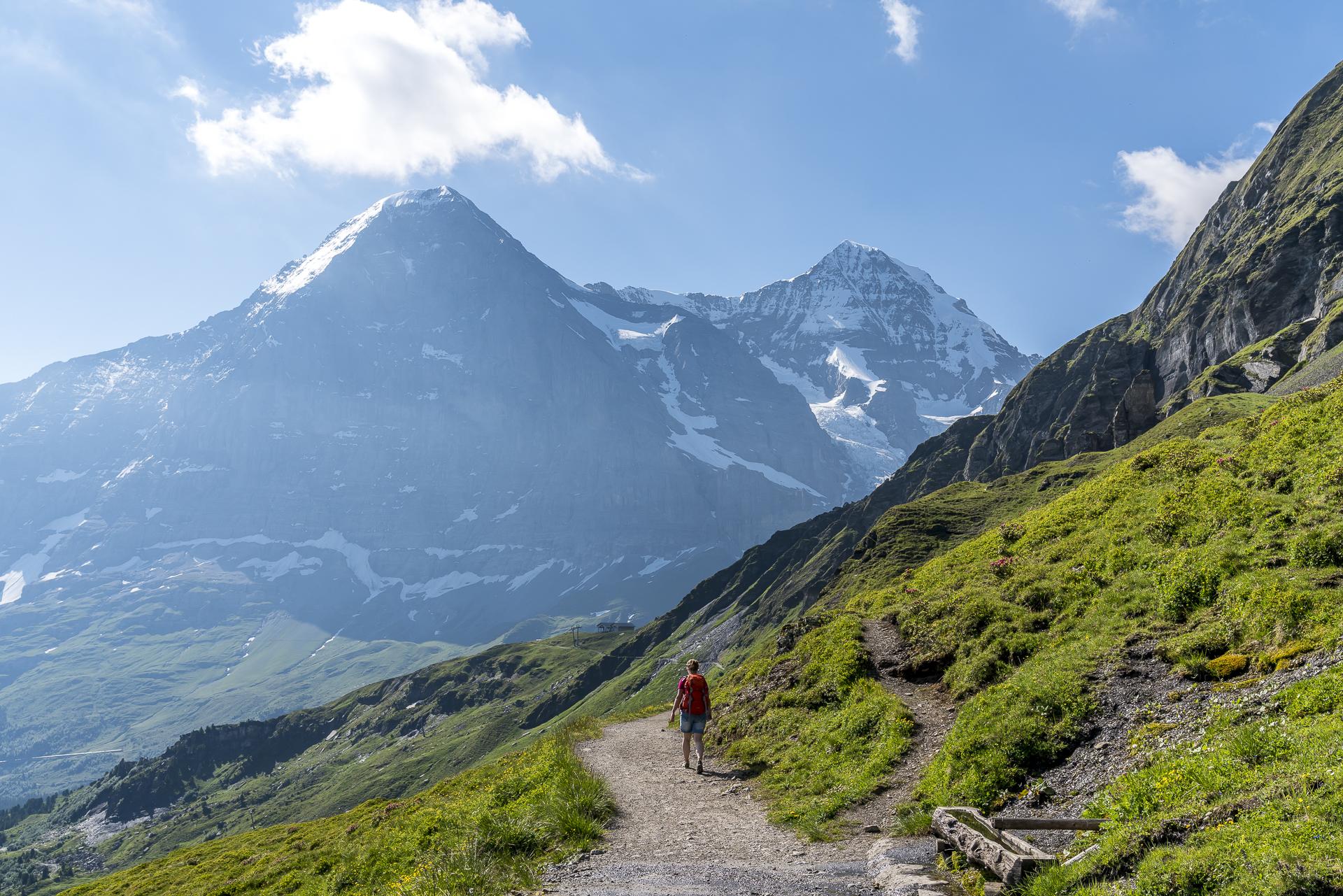 Panoramaweg Männlichen Kleine Scheidegg