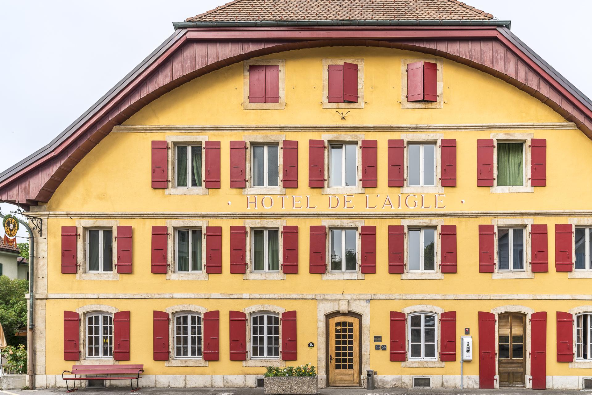 Val-de-Travers Hotel de l'Aigle