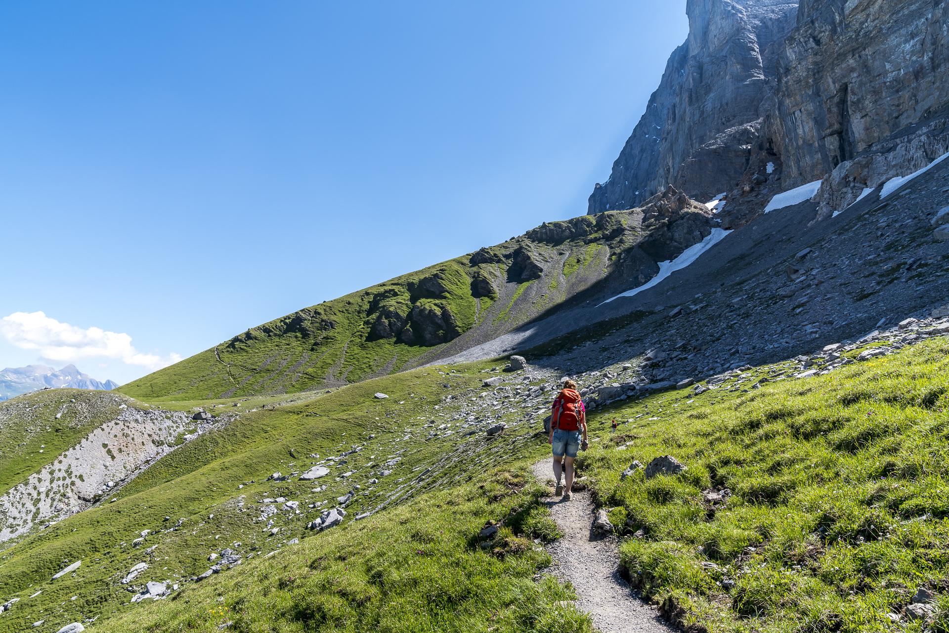 Wanderung auf dem Eiger Trail