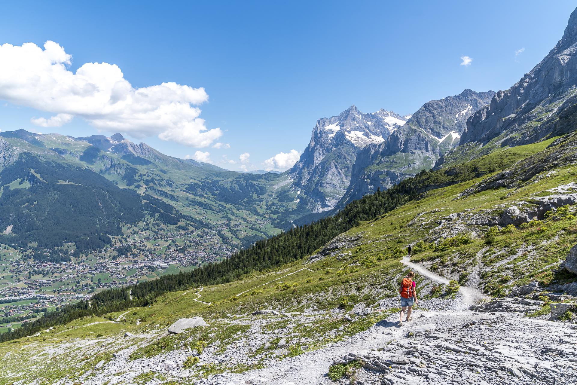 Grindelwald Männlichen Eiger Trail