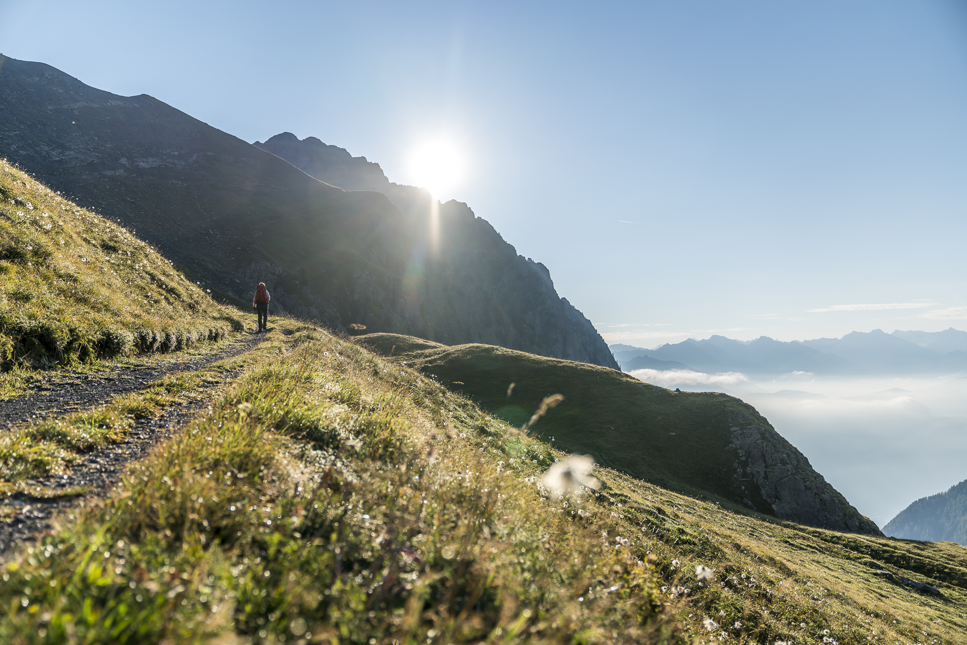 Aufstieg Col de Jorat