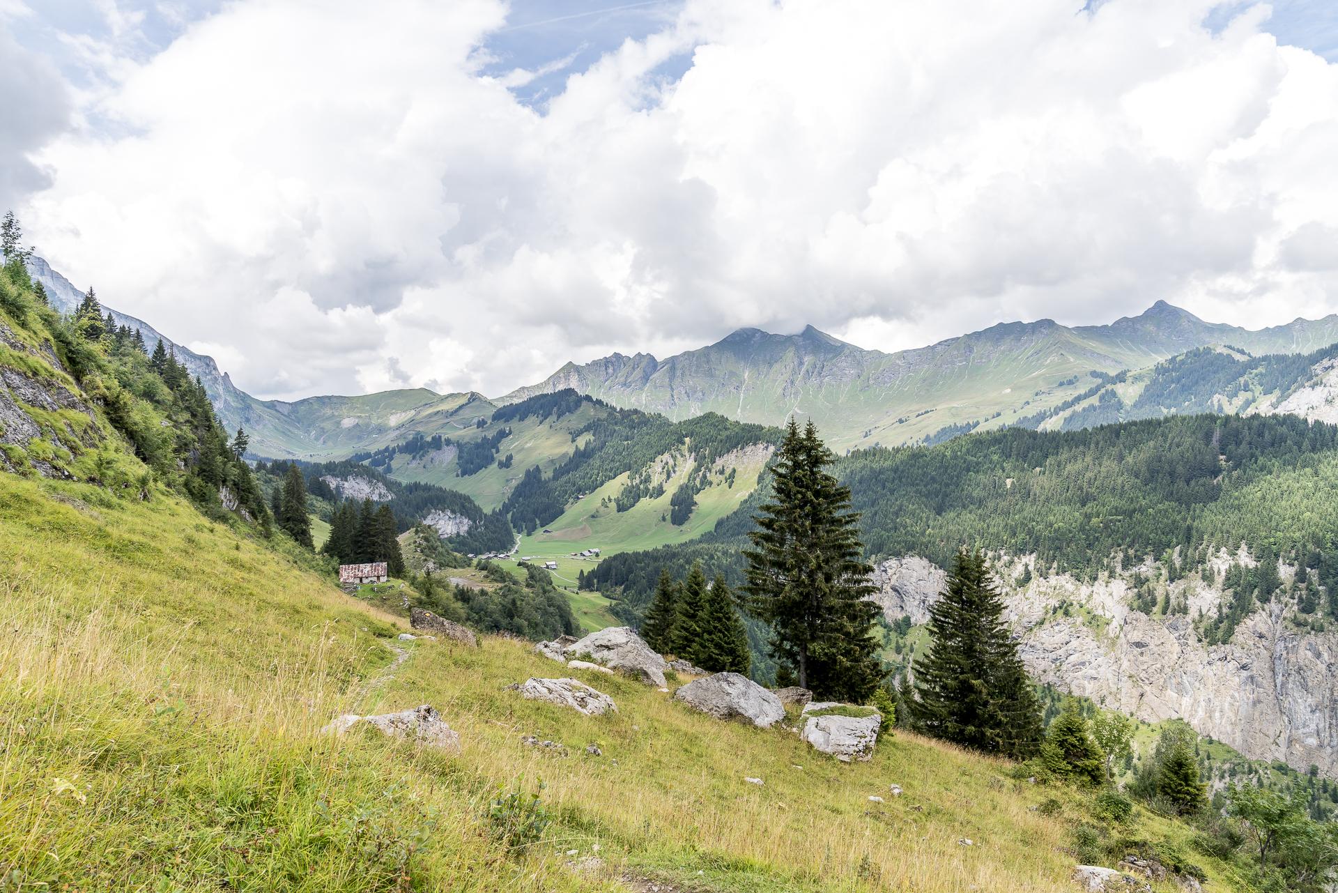 Aufstieg zum Signal de Bonavau