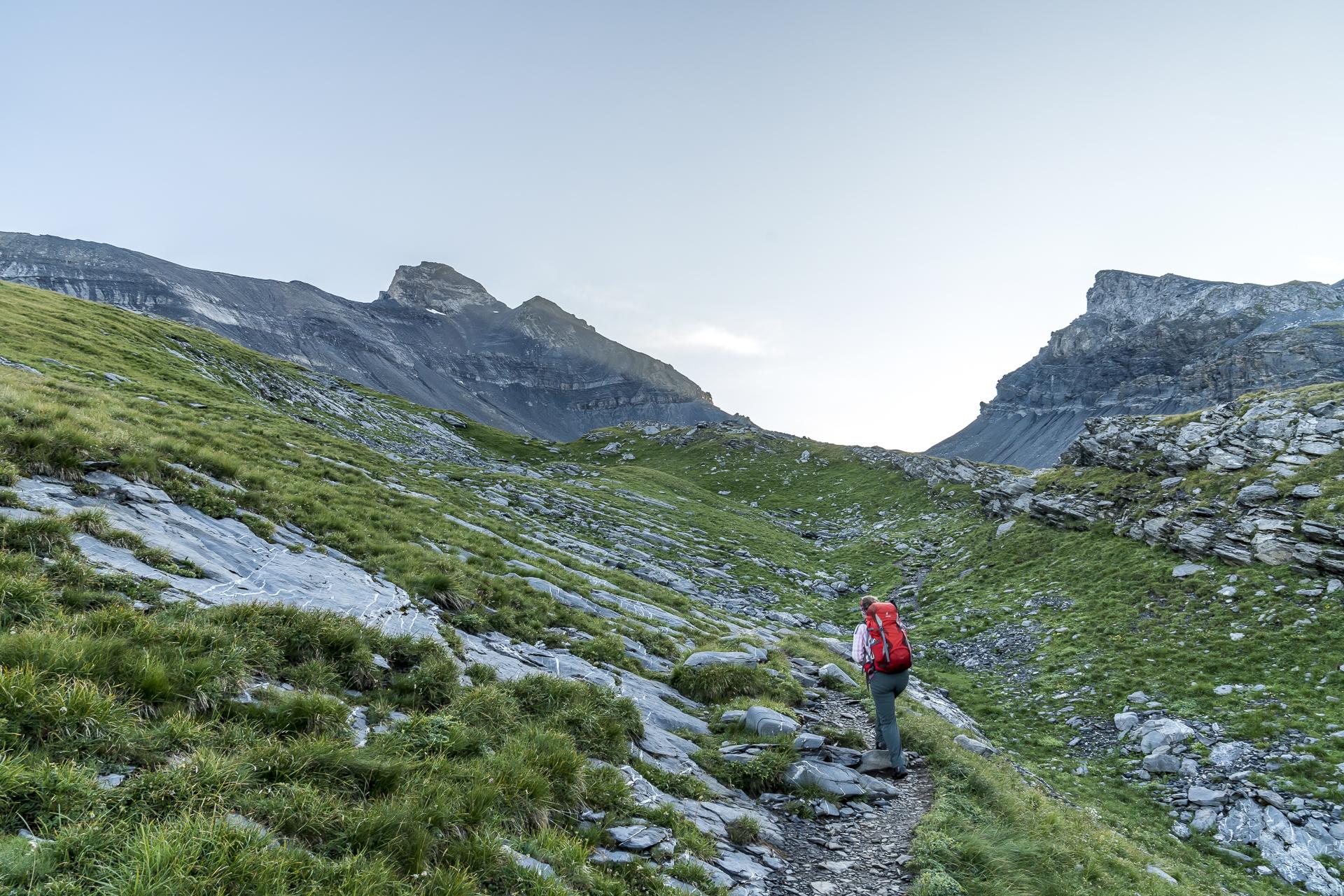 Aufstieg zum Col de Susanfe
