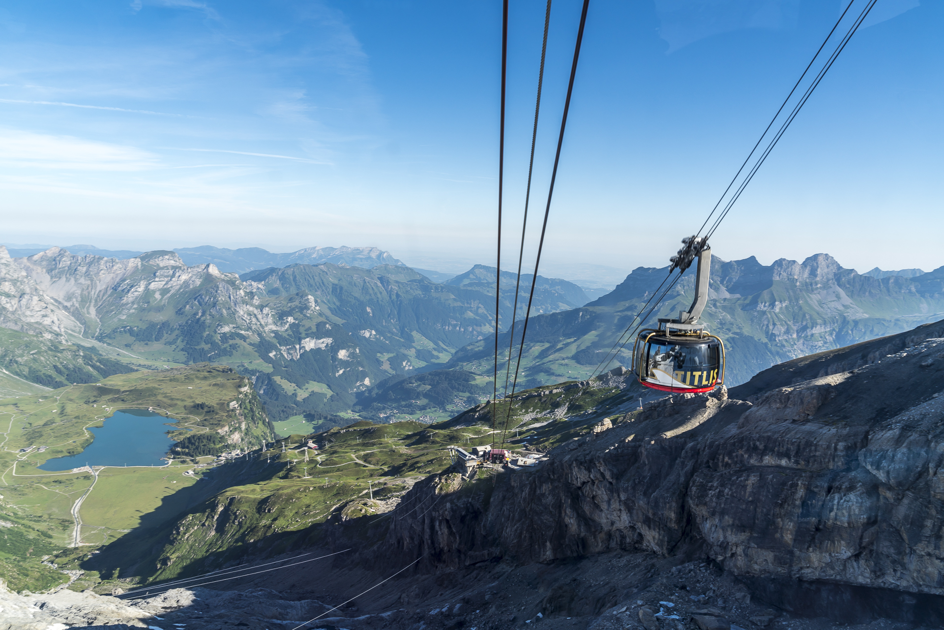 Bergfahrt Titlis Rotair
