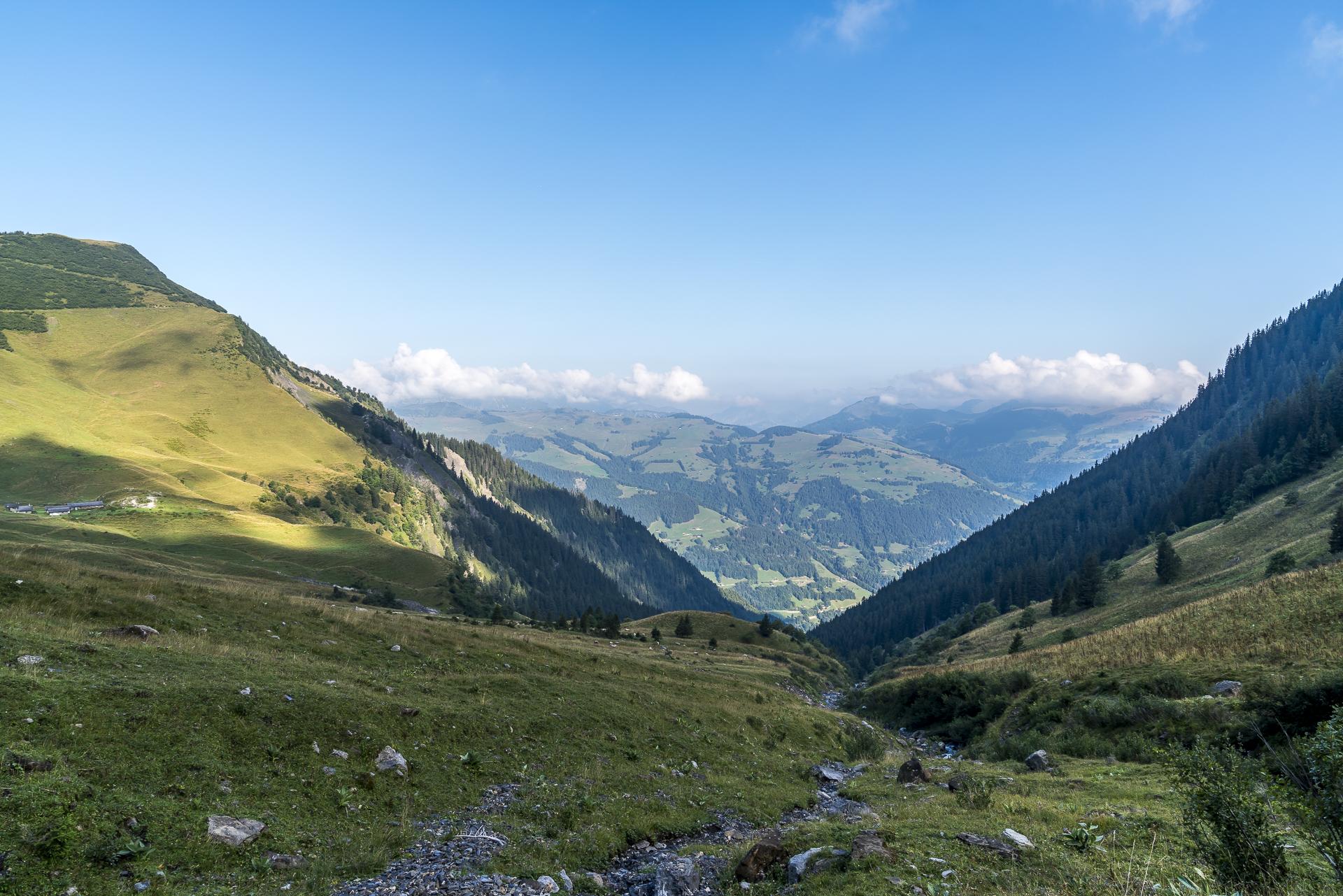 Bergpanorama Unterwallis