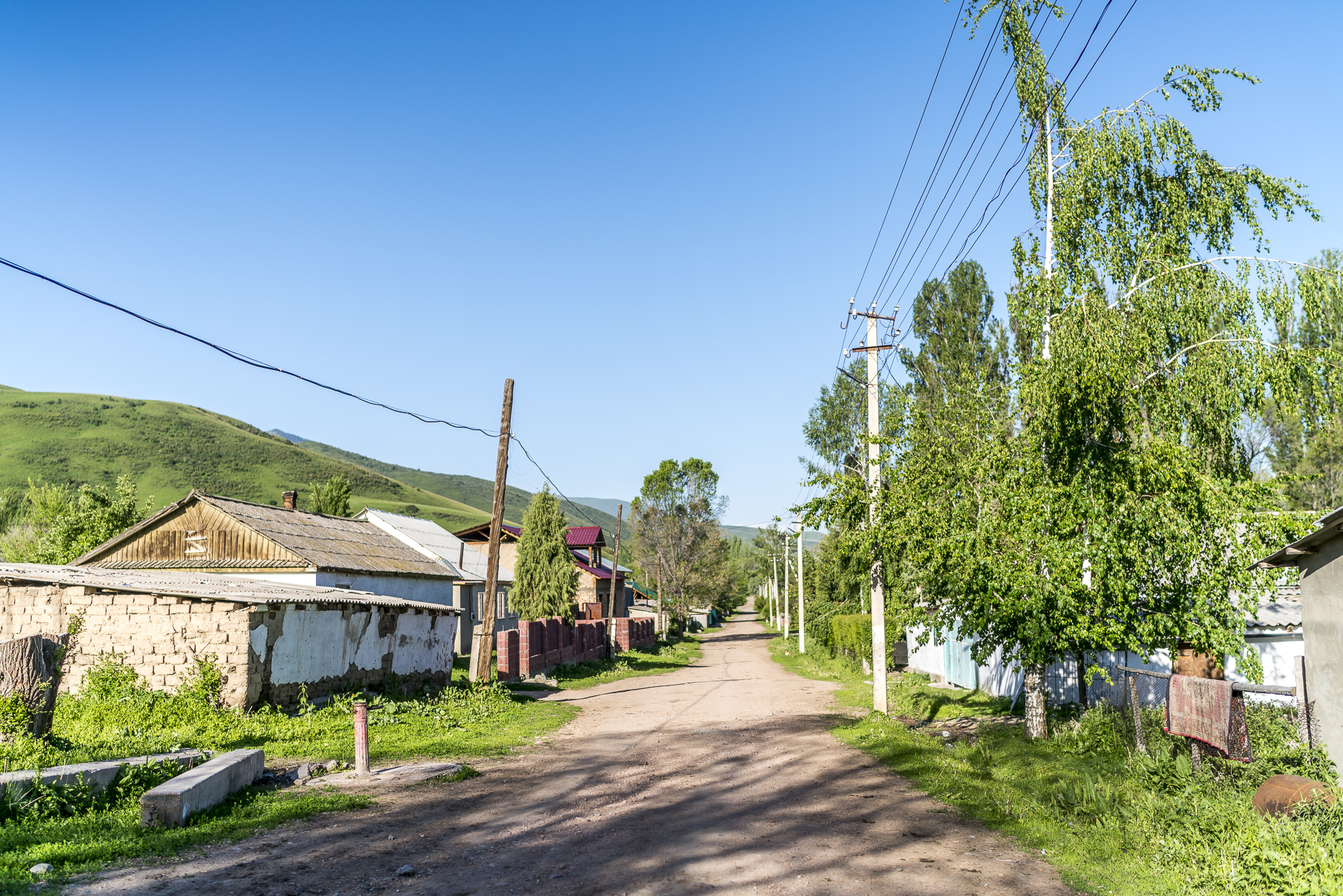 Dorfleben in Kirgistan