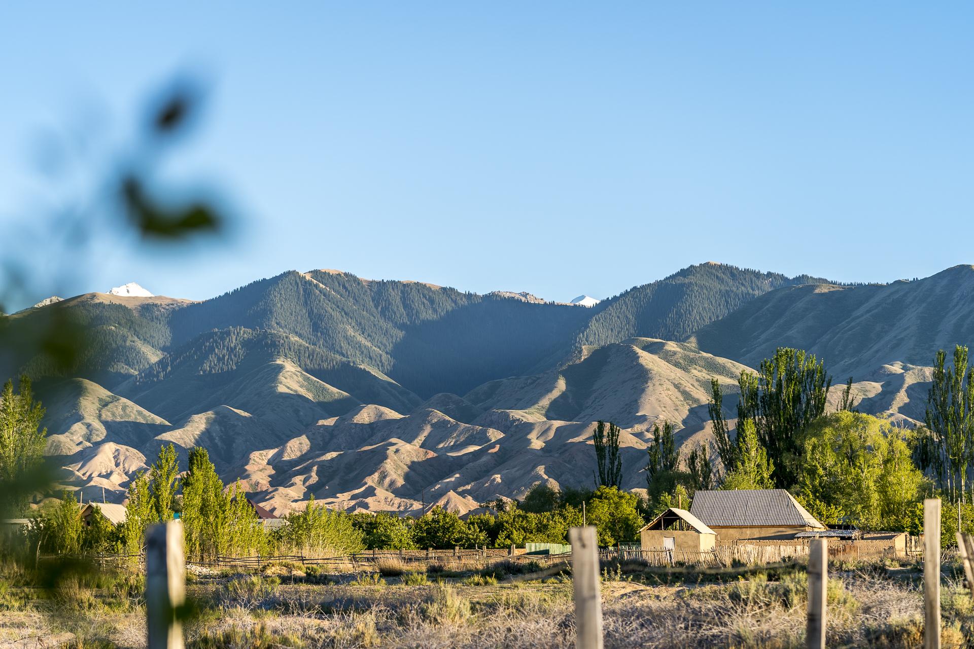 Issykköl Gebiet in Kirgistan