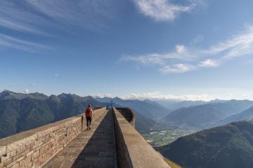 Monte Tamaro - Monte Lema: Höhenwanderung im Tessin