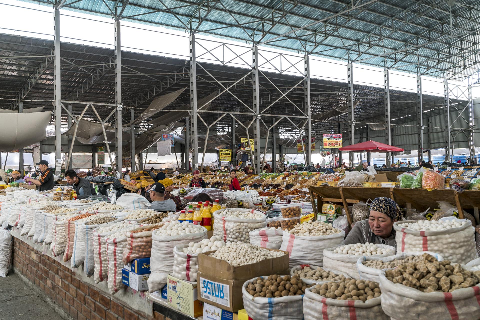 Markthallen Bischkek