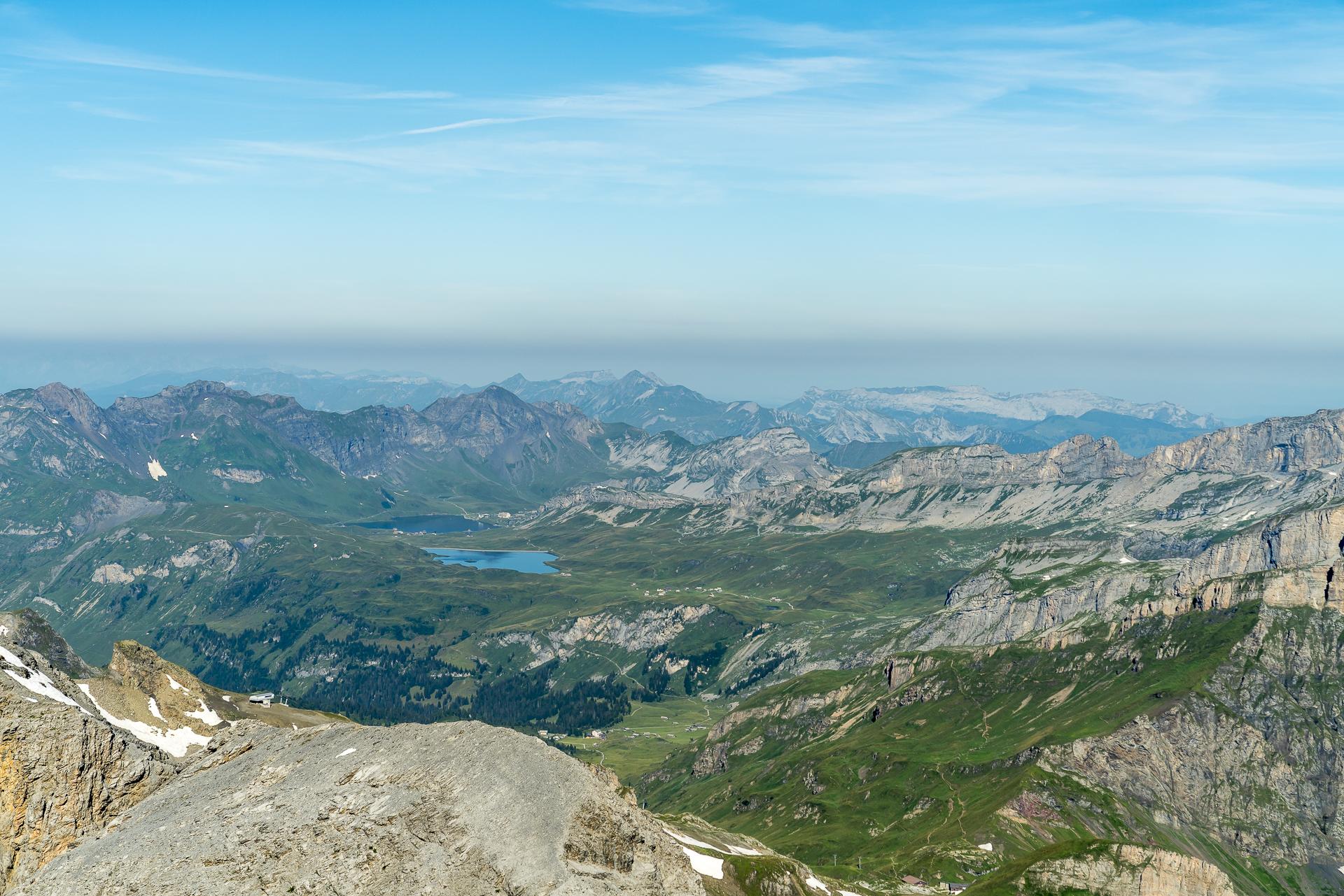 Panoramablick Melchsee-Frutt
