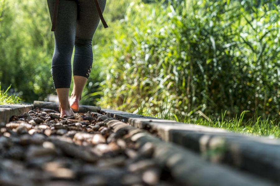 Barfuss über Stock und Stein: mein Härtetest auf dem Sentier Pieds Nus