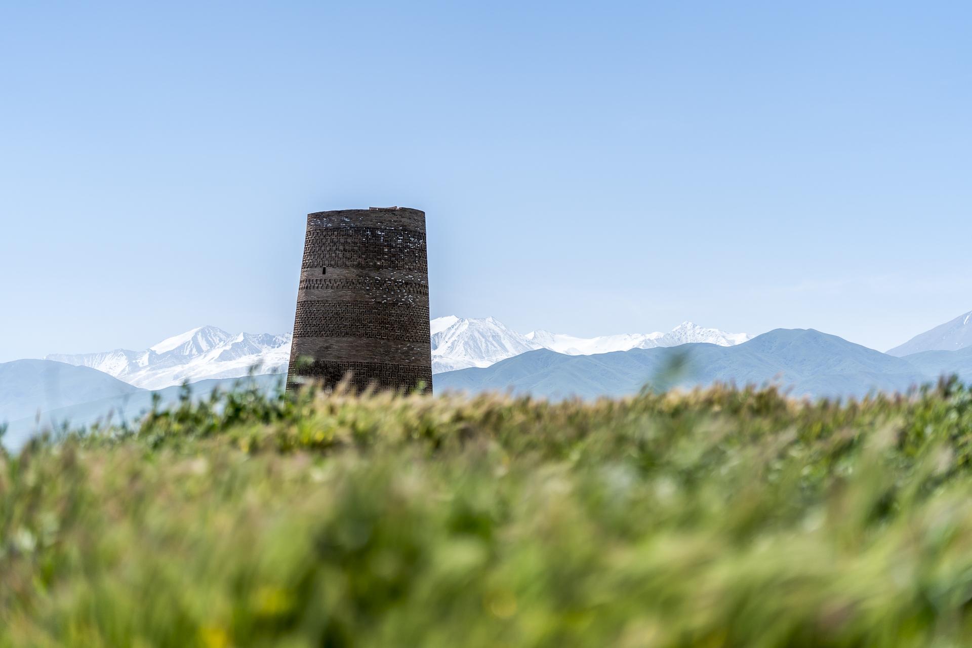 Sehenswürdigkeit in Kirgistan Burana-Turm