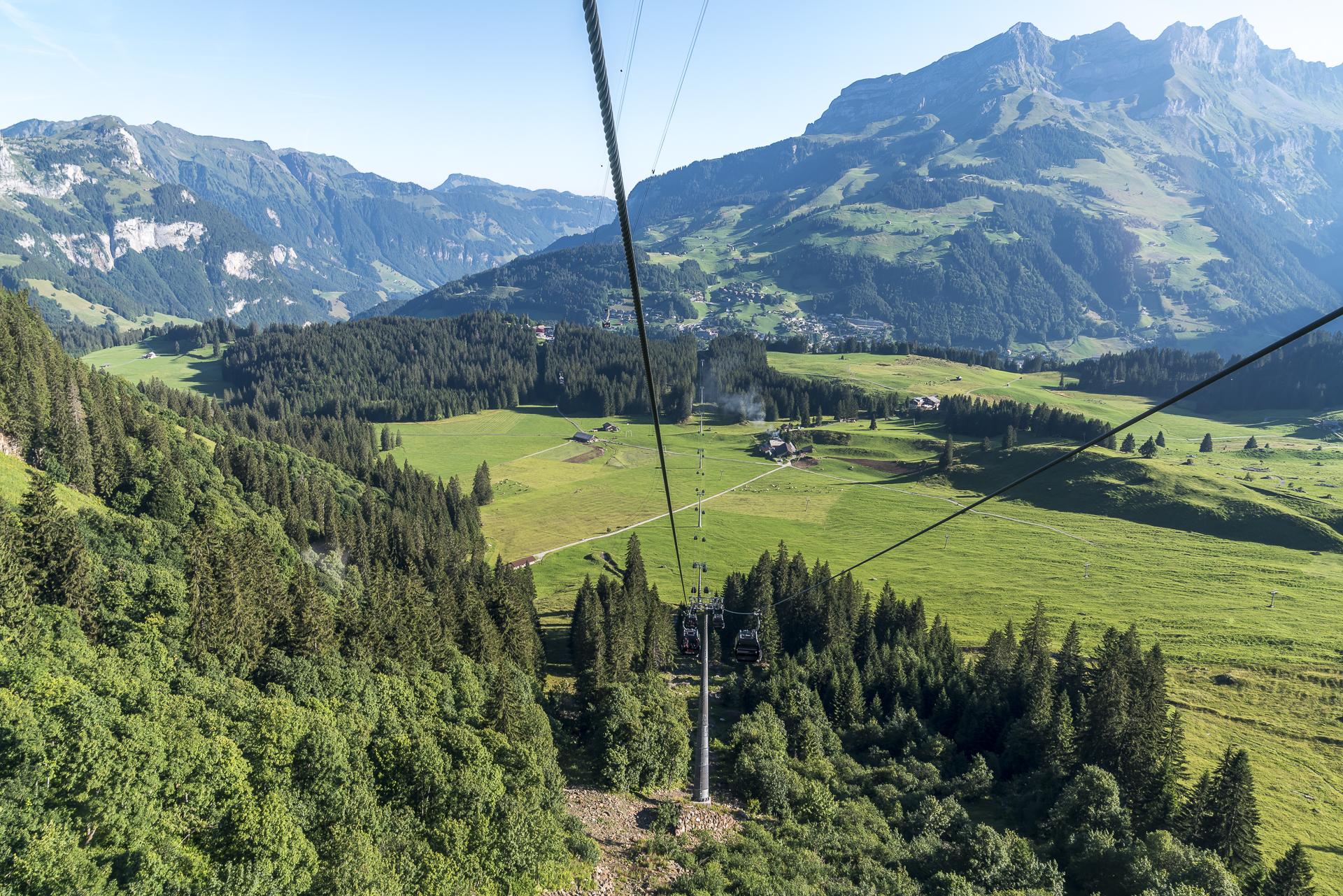 Seilbahnfahrt Engelberg