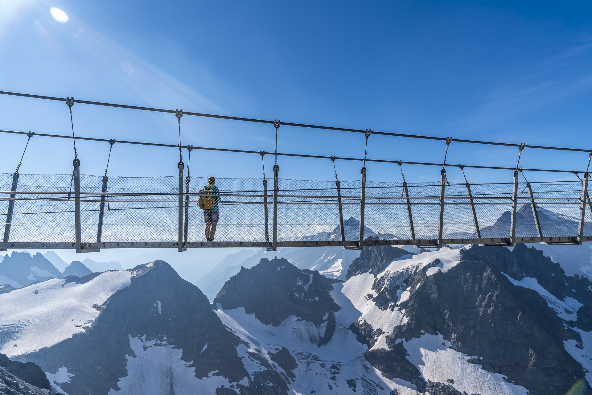 Titlis Cliff Walk Panorama