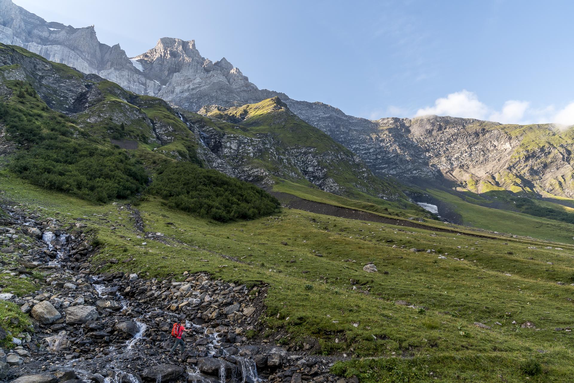 Tour des Dents du Midi Rundwanderung
