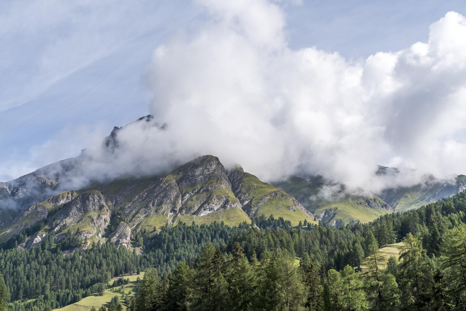 Val Sinestra Panorama