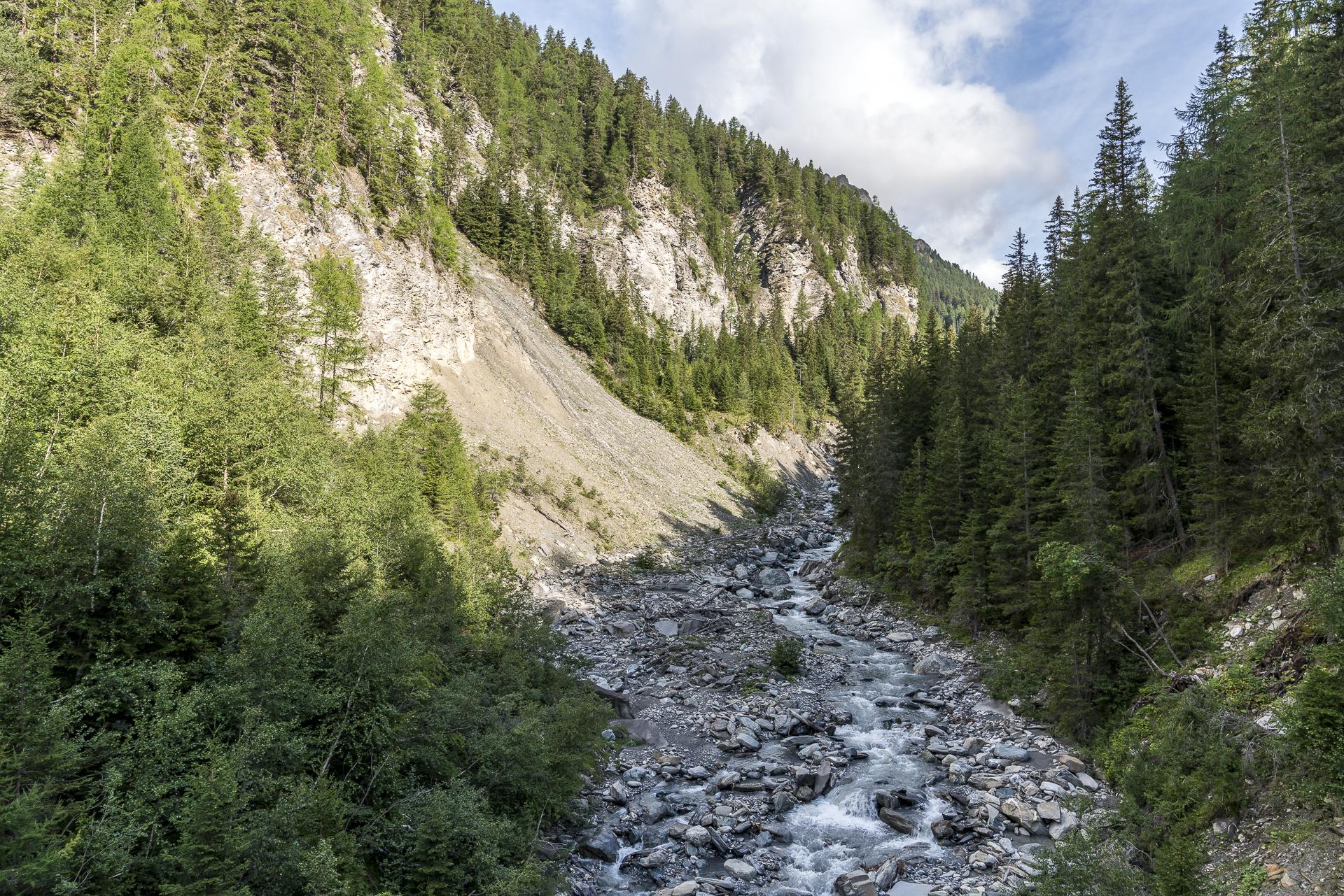 Val Sinestra Wanderweg