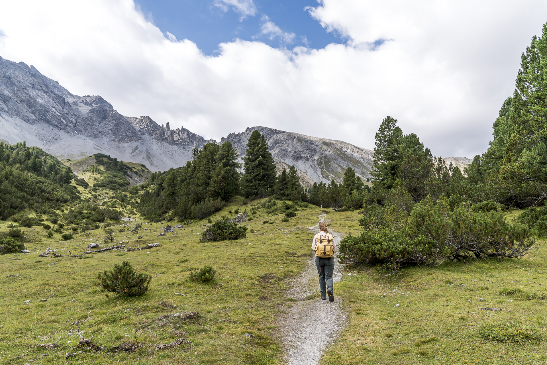 Wanderung Val Mingèr