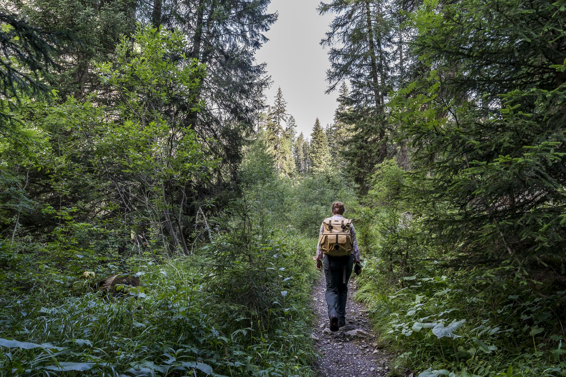 Wandern im Val Sinestra