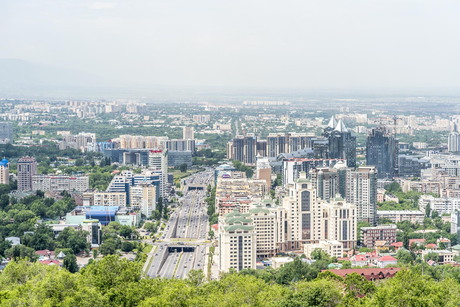 Kok Tobe Hill Almaty