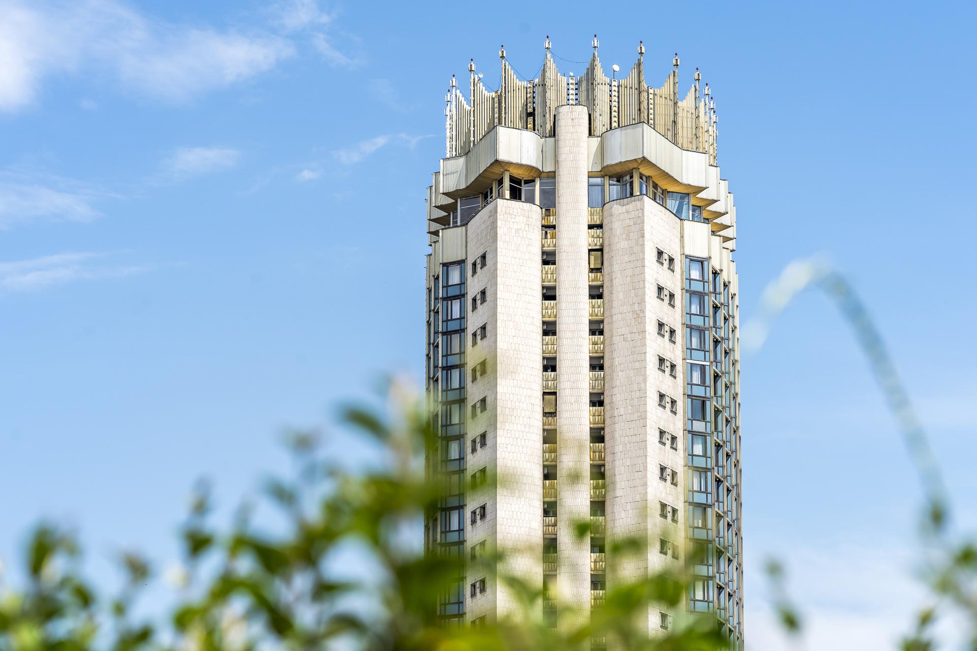 Sowjetbau in Almaty Kasachstan