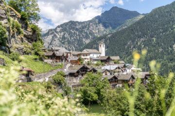 Calancatal: Genusswanderung zur Osteria Landarenca