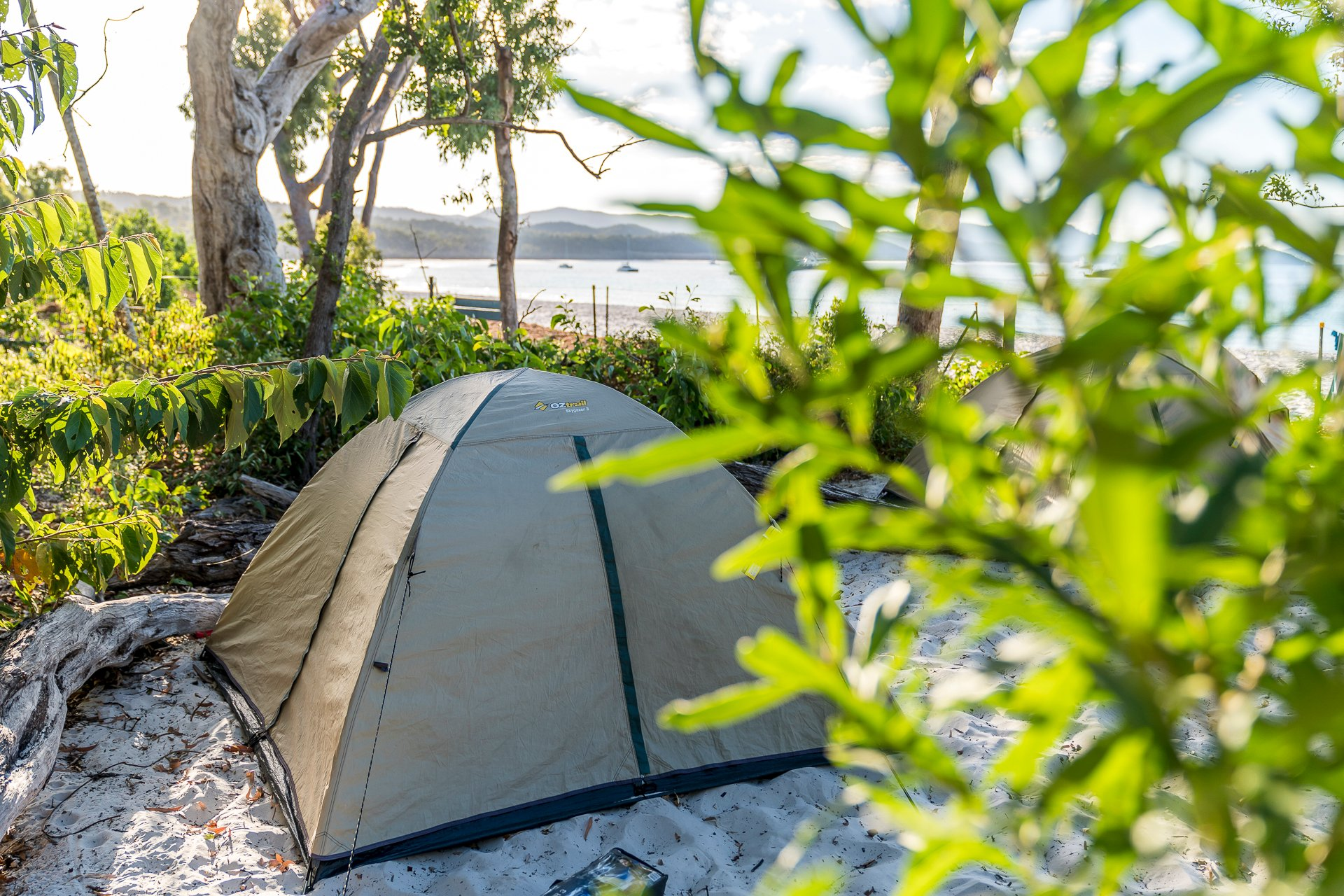 Camping Whitehaven Beach