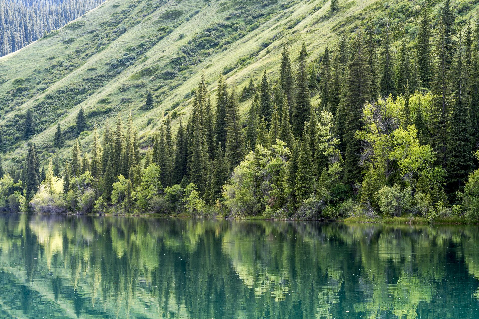 Kasachstan Lake Kolsai