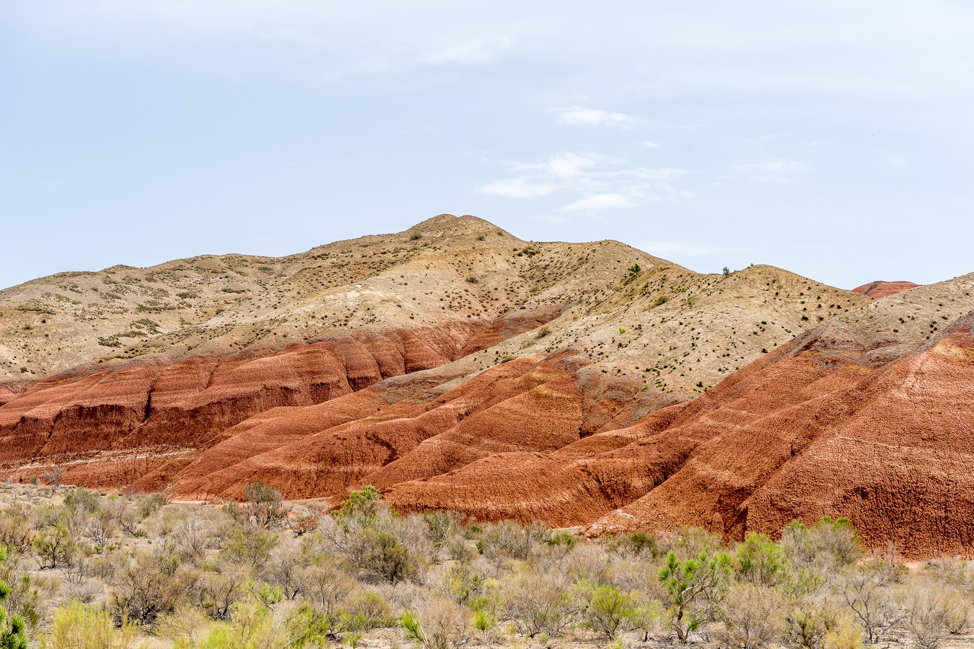 Rote Berge Altyn-Emel