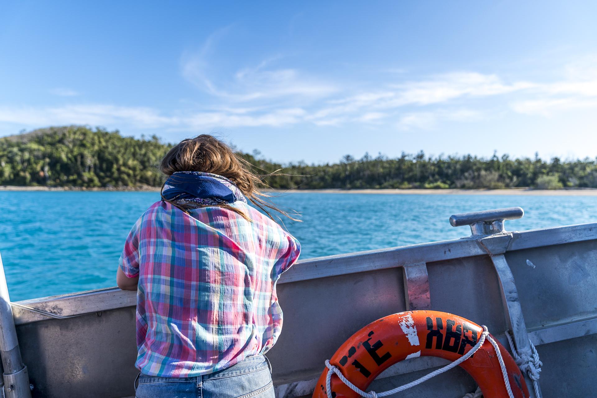 Schifffahrt Whitsunday Islands