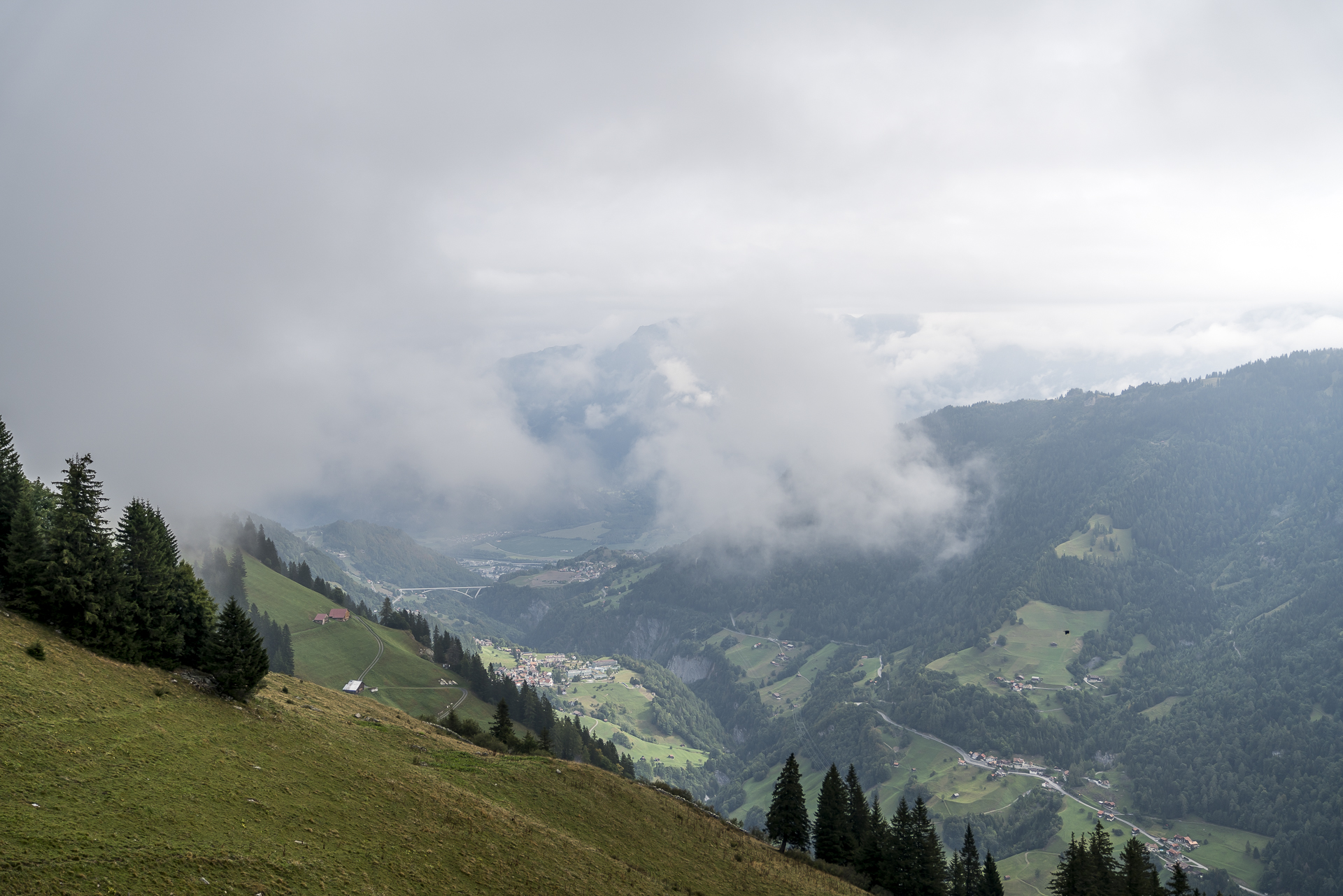 Aussicht vom Vättnerberg