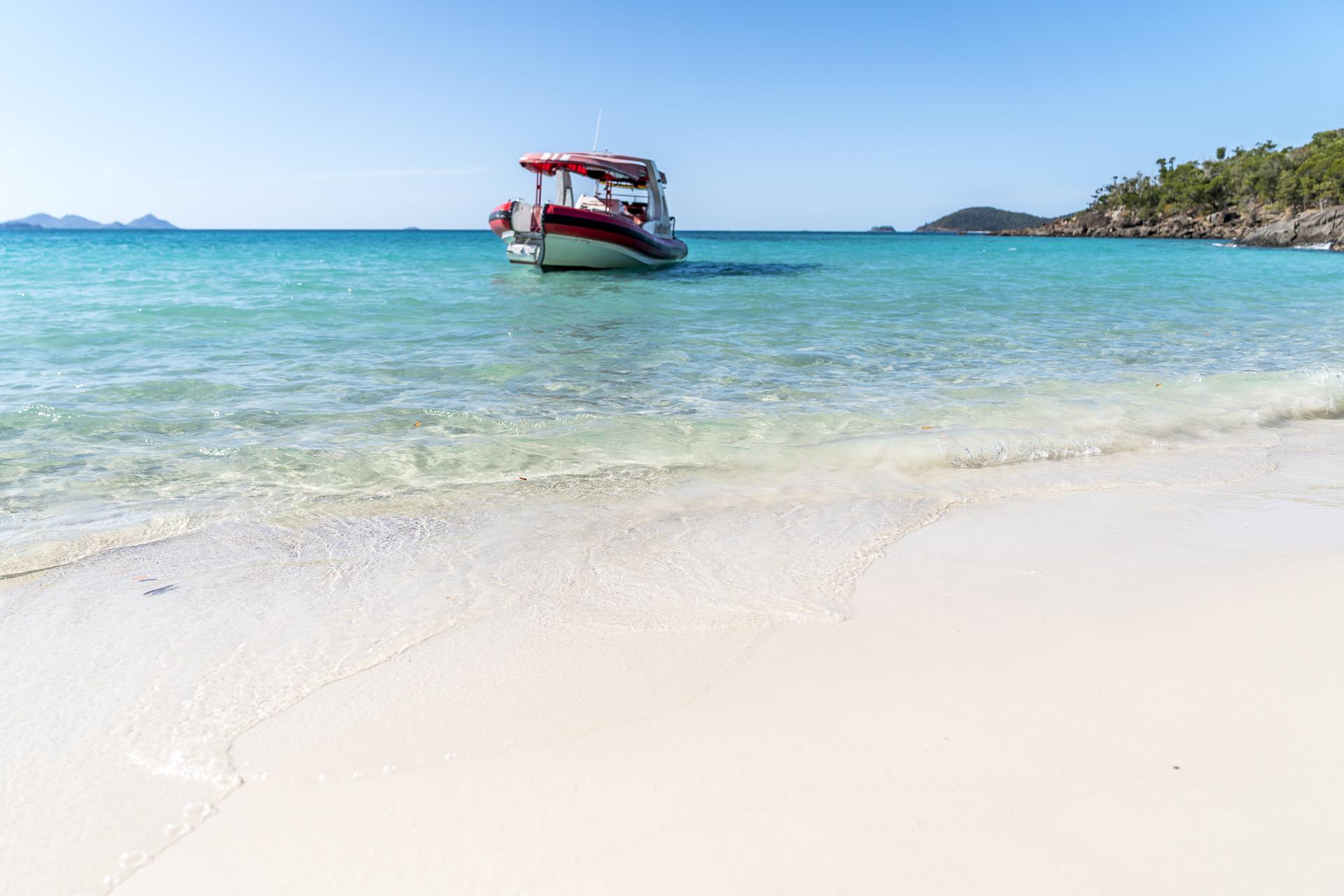 Whitsunday Islands Schiff