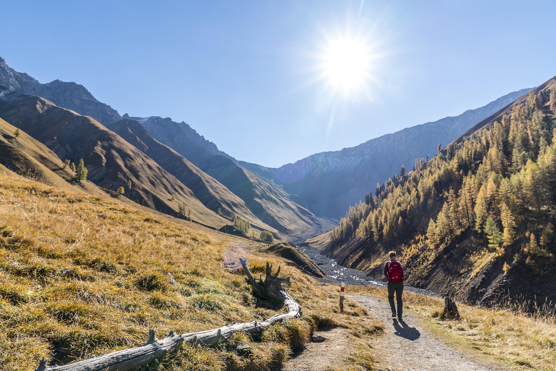 Wanderung zur Alp Trupchun