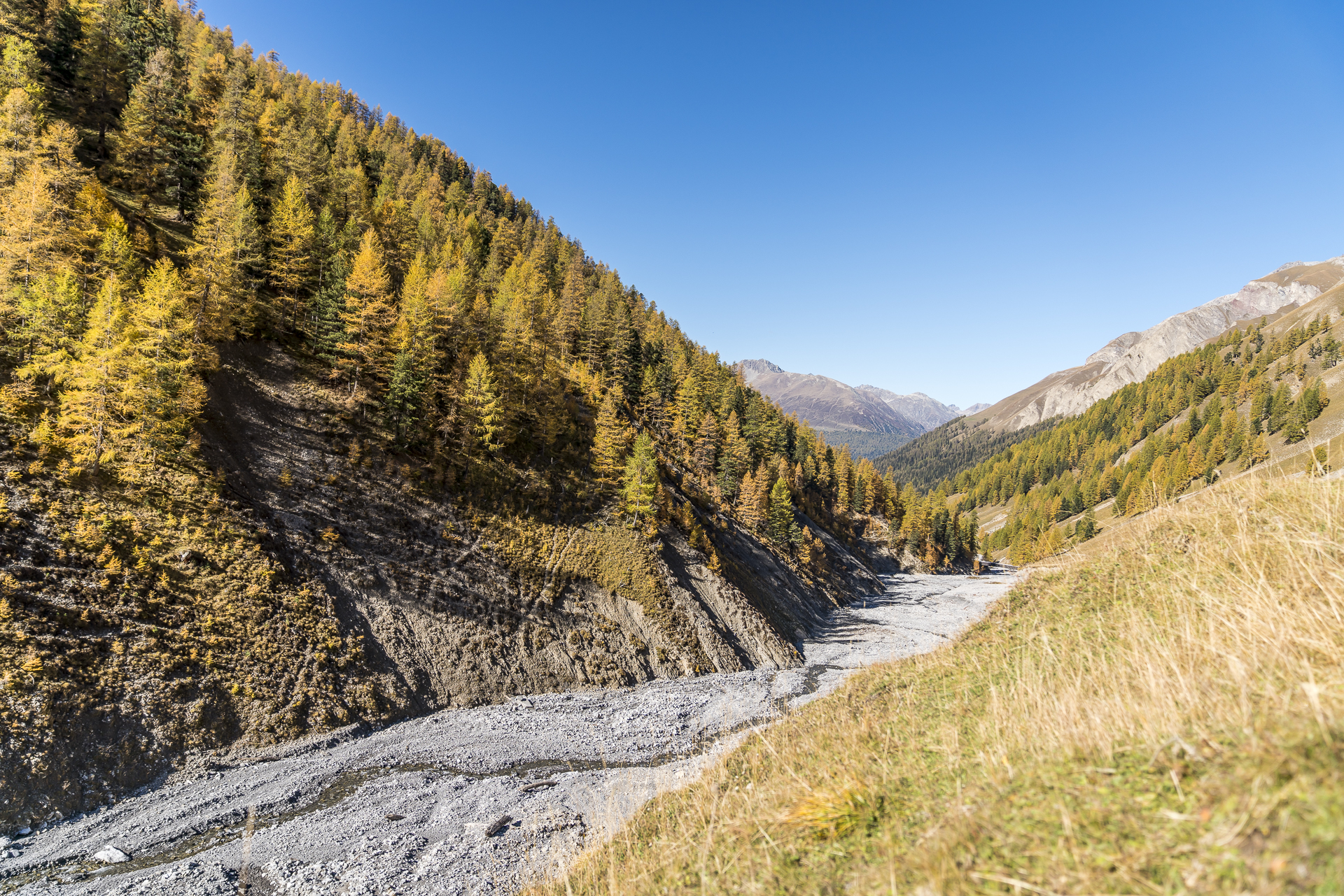 Alp Trupchun Fluss