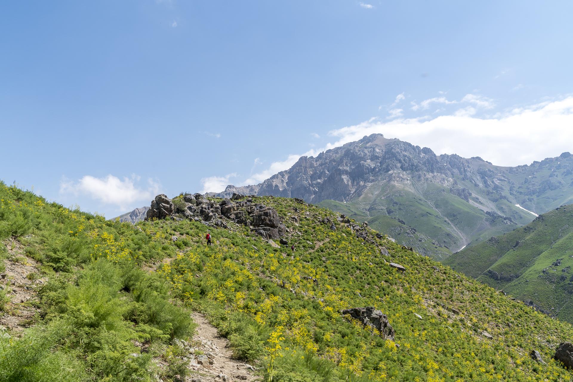 Aufstieg zum Kumbel-Pass