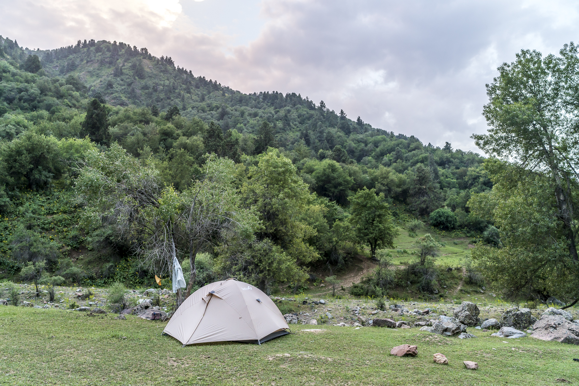 Camping im Beldersoy Tal