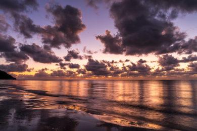 Sonnenaufgang am Cape Tribulation
