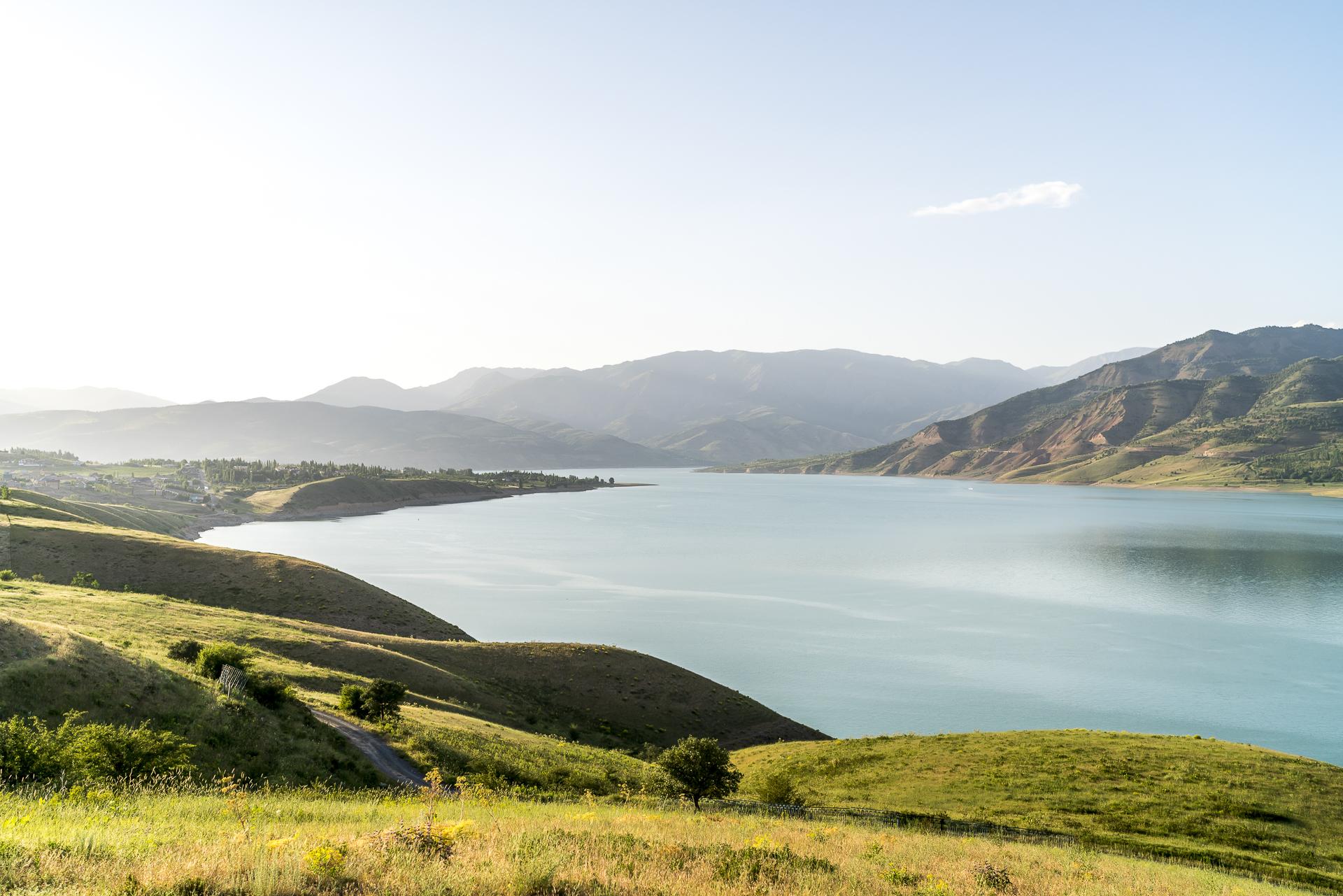 Charvak Reservoir Usbekistan