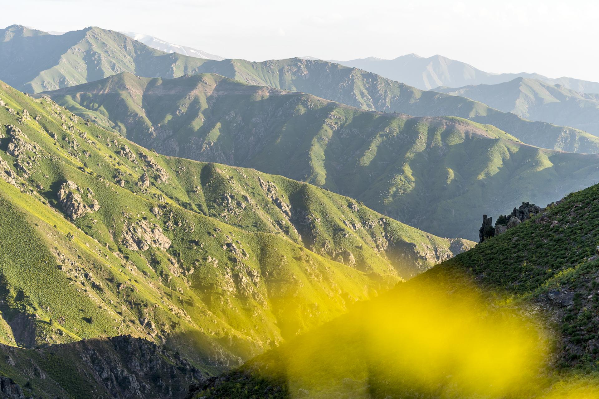 Chimgan Gebirge in Usbekistan