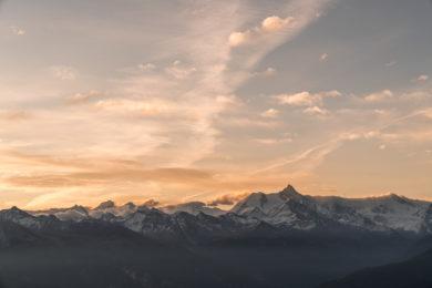 Crans Montana Panorama