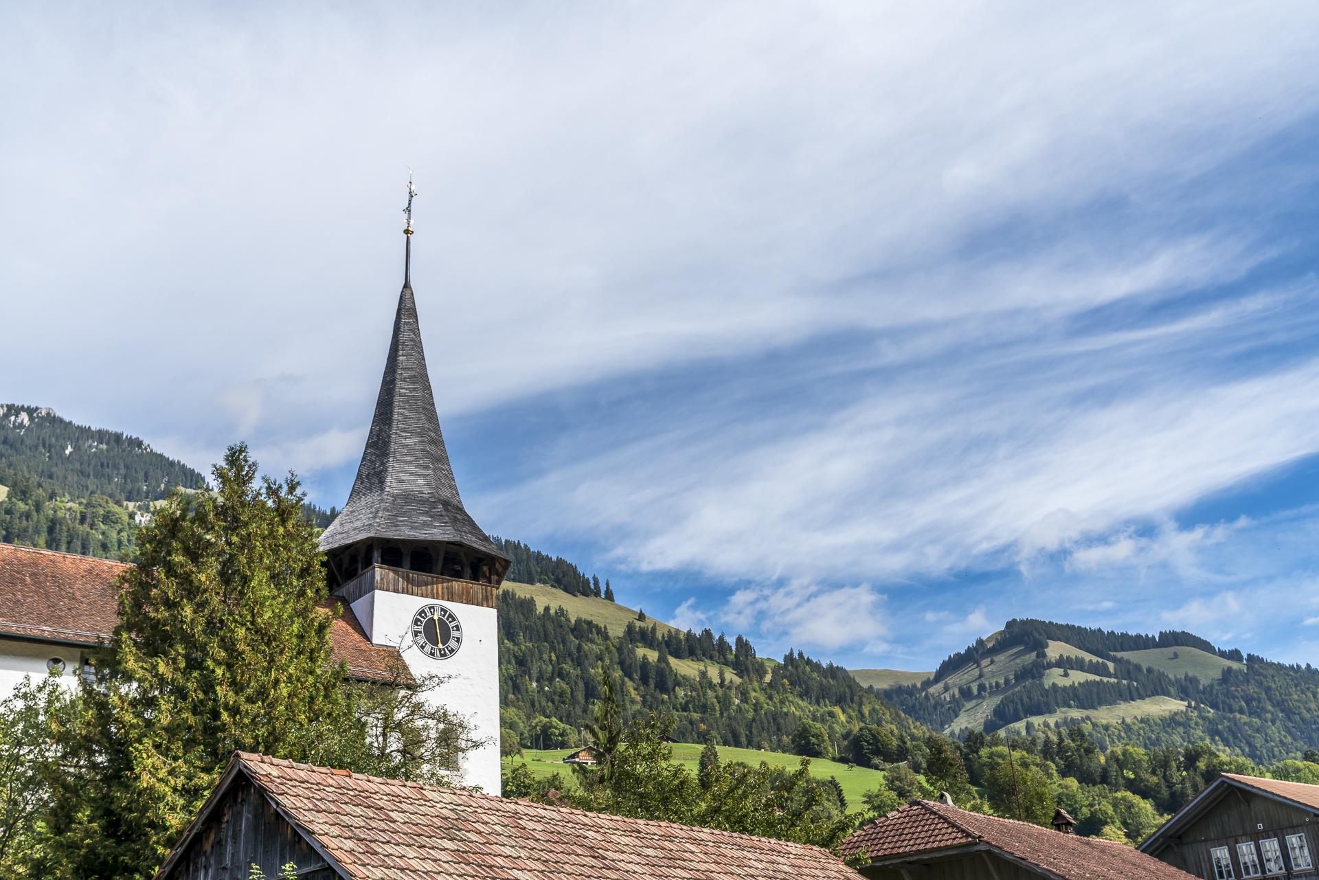 Erlenbach im Simmental Kirche