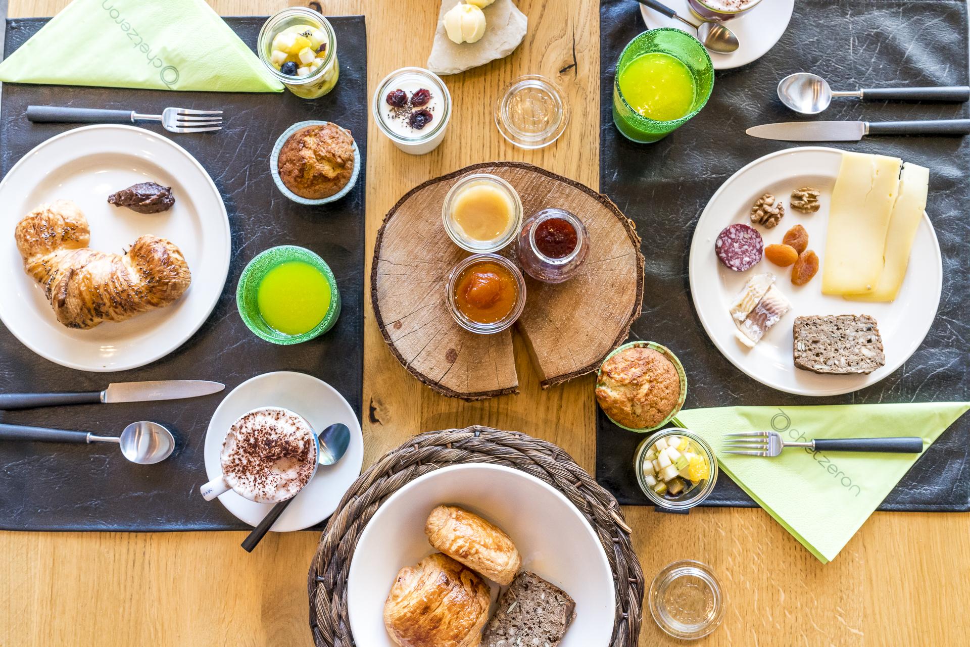 Frühstück Hotel Chetzeron