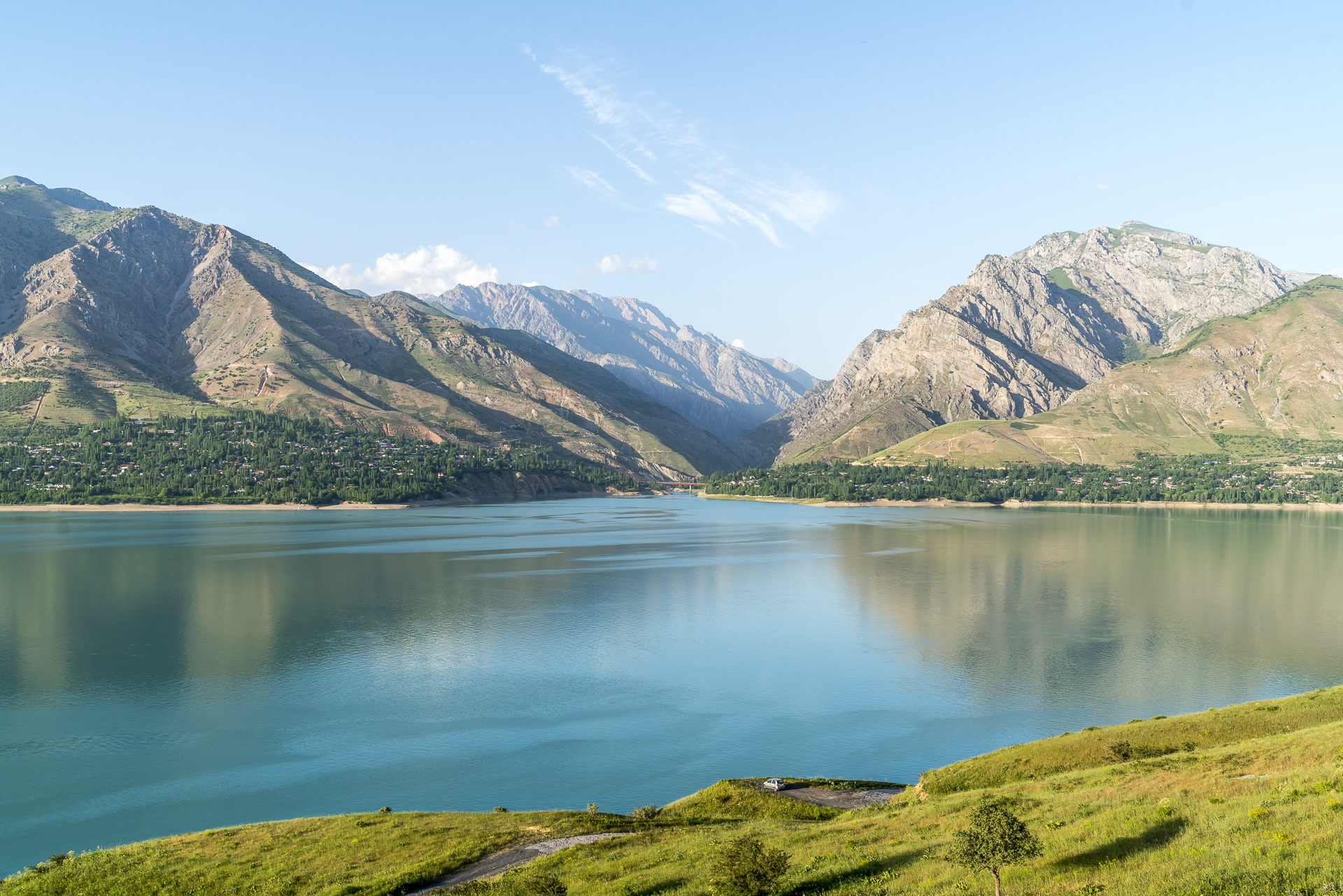 Lake Charvak Usbekistan
