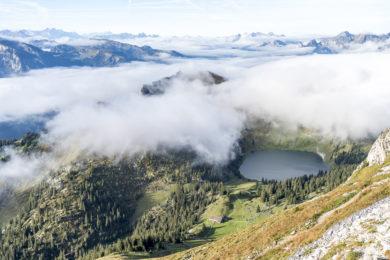 Stockhorn Aussicht Oberstockensee