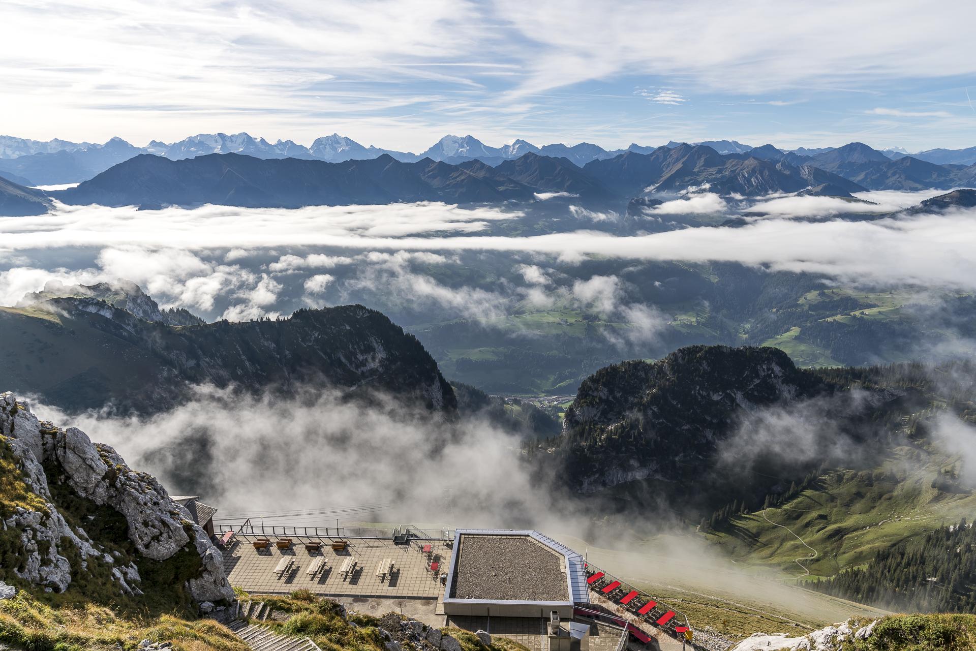 Stockhorn Gipfelaussicht