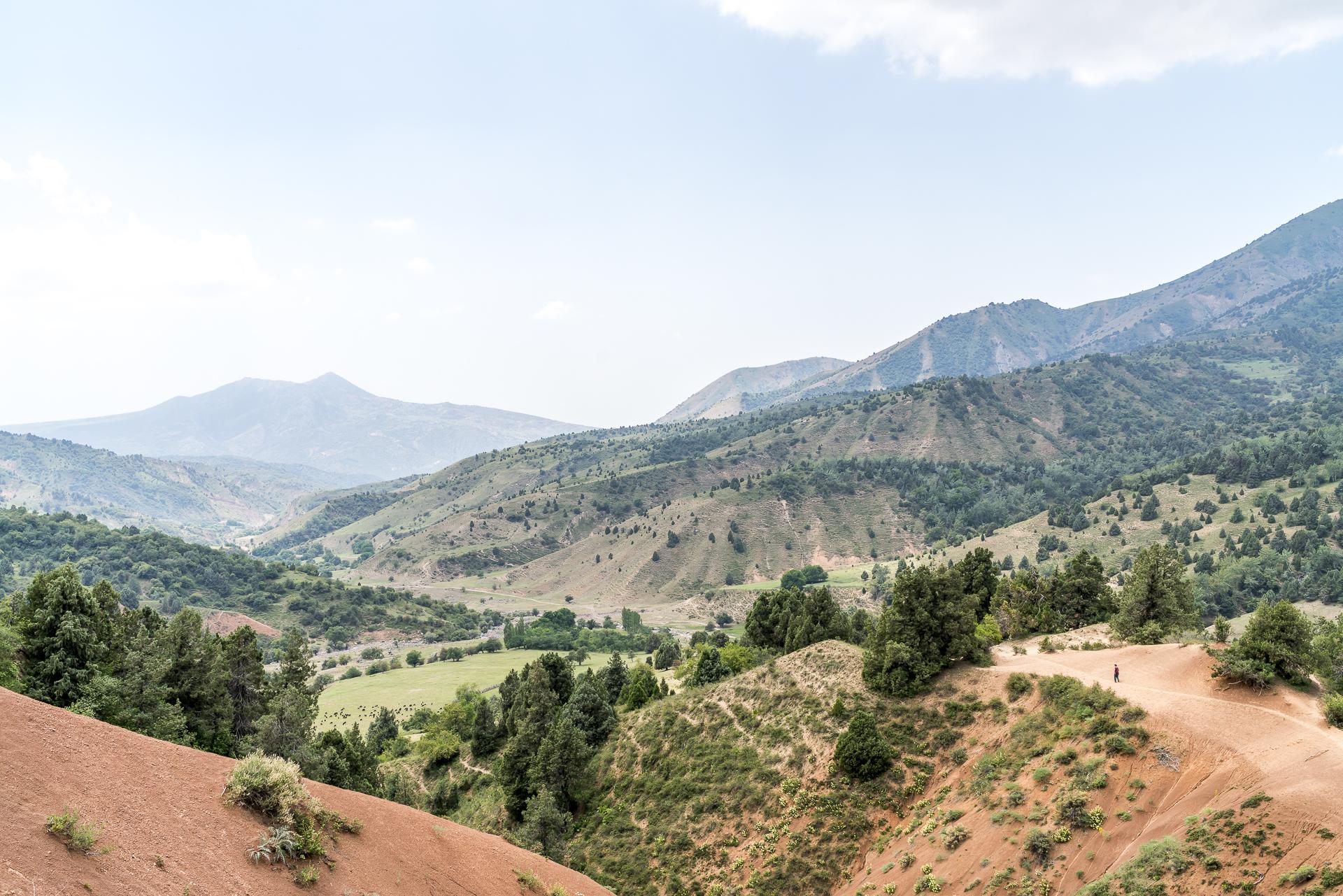 Trekking in Usbekistan