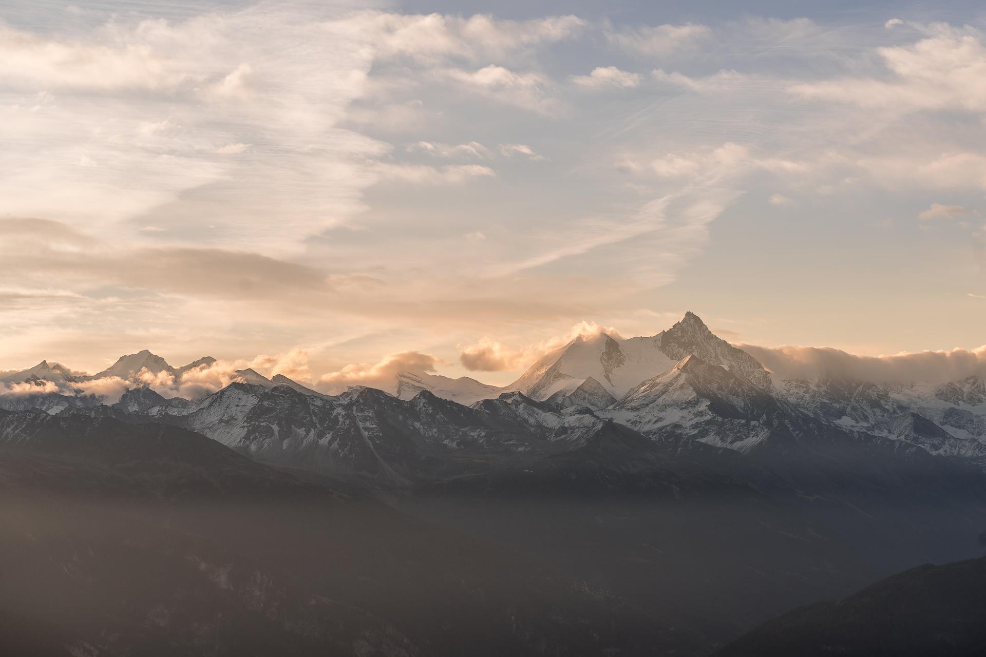 Walliser Alpenpanorama