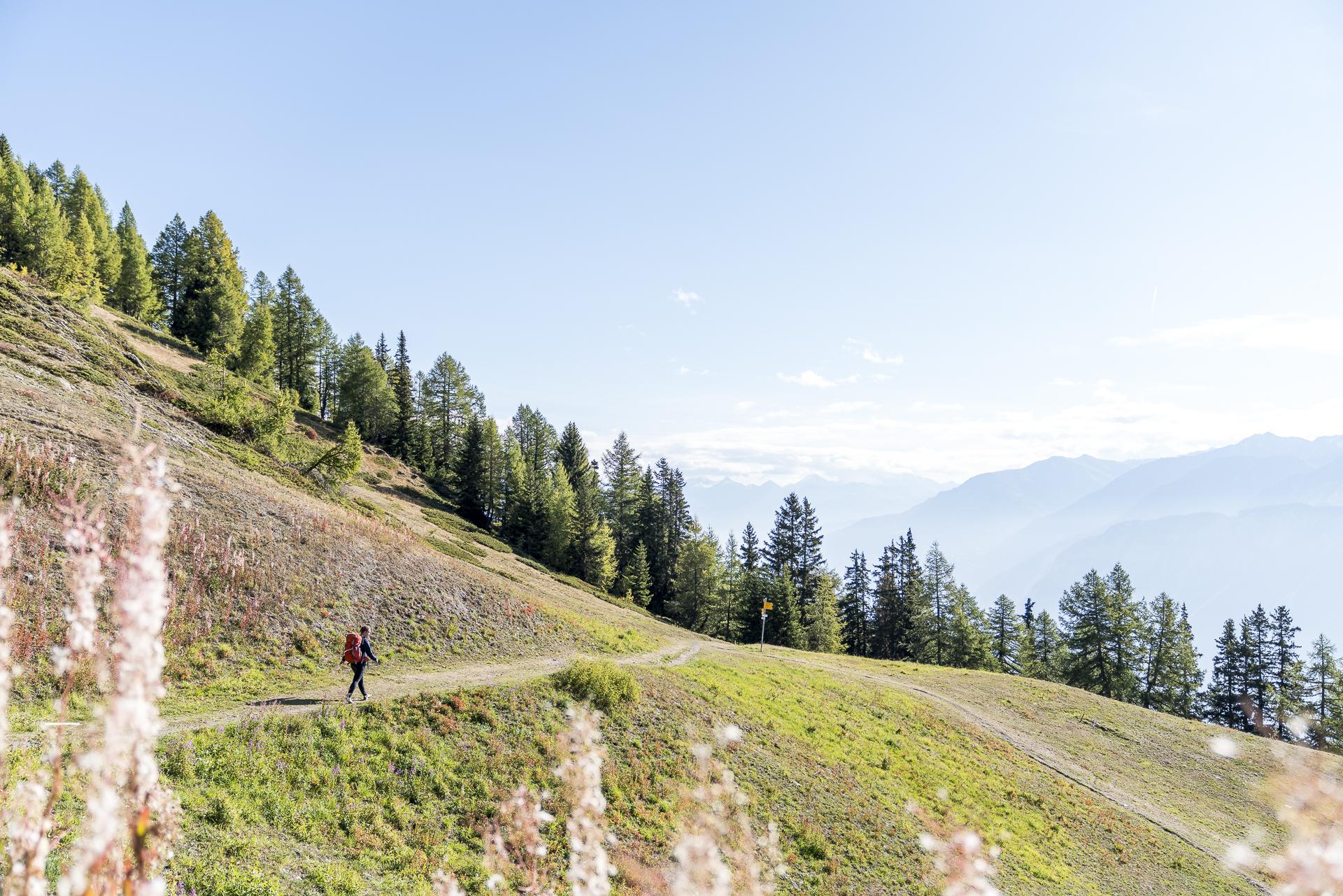 Wandern in Crans-Montana